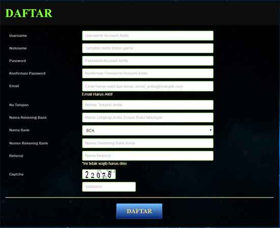 cara daftar poker online terpercaya poker1one