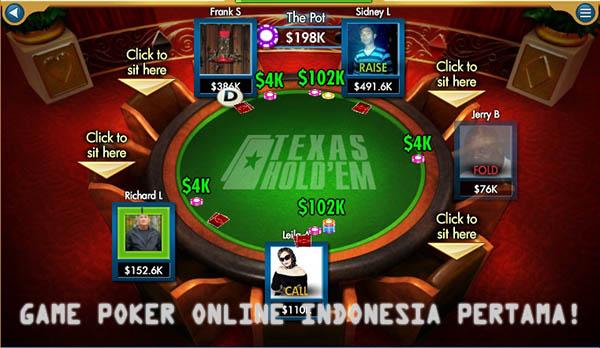 game poker online indonesia uang asli pertama